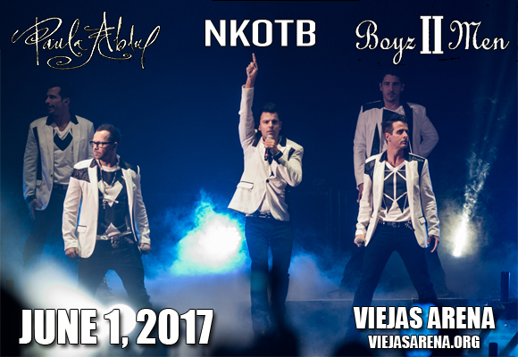 New Kids On The Block, Paula Abdul & Boyz II Men at Viejas Arena