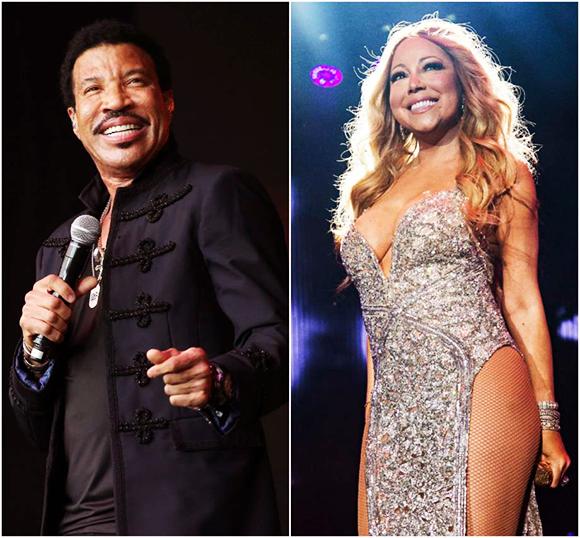 Lionel Richie & Mariah Carey at Viejas Arena