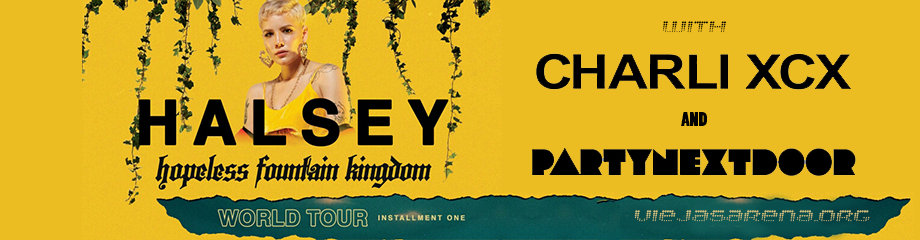 Halsey, PartyNextDoor & Charli XCX at Viejas Arena