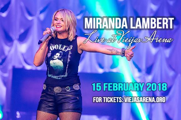 Miranda Lambert, Jon Pardi & Lucie Silvas at Viejas Arena