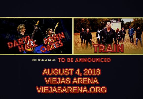 Hall and Oates & Train at Viejas Arena