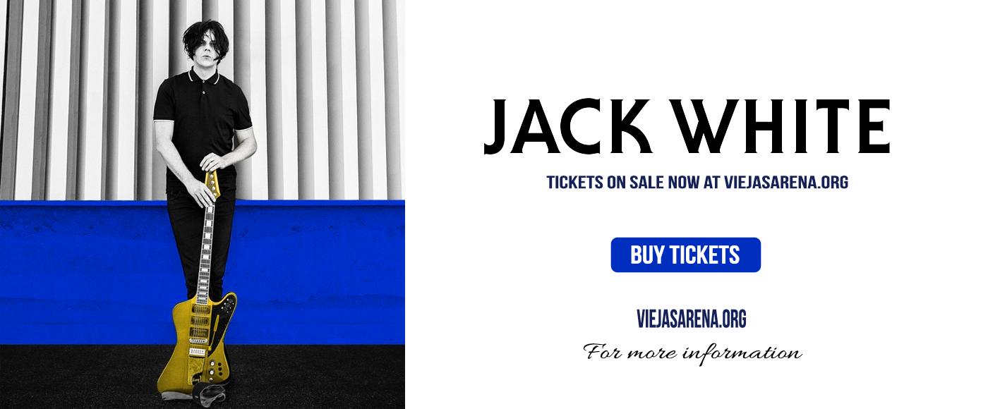Jack White at Viejas Arena