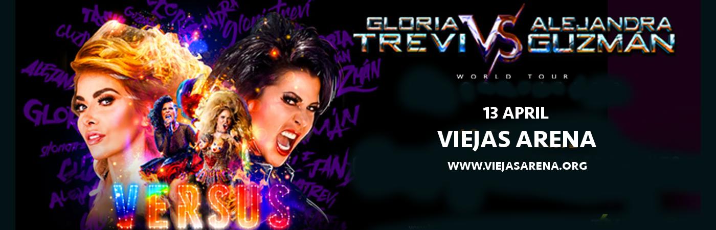Gloria Trevi & Alejandra Guzman at Viejas Arena
