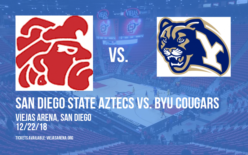 San Diego State Aztecs Vs. Byu Cougars at Viejas Arena