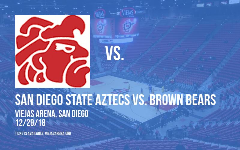 San Diego State Aztecs vs. Brown Bears at Viejas Arena