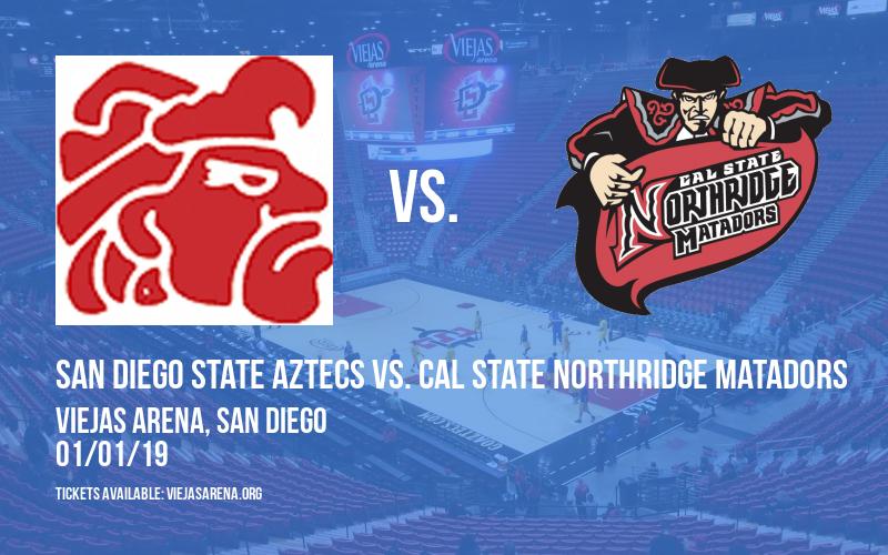 San Diego State Aztecs vs. Cal State Northridge Matadors at Viejas Arena