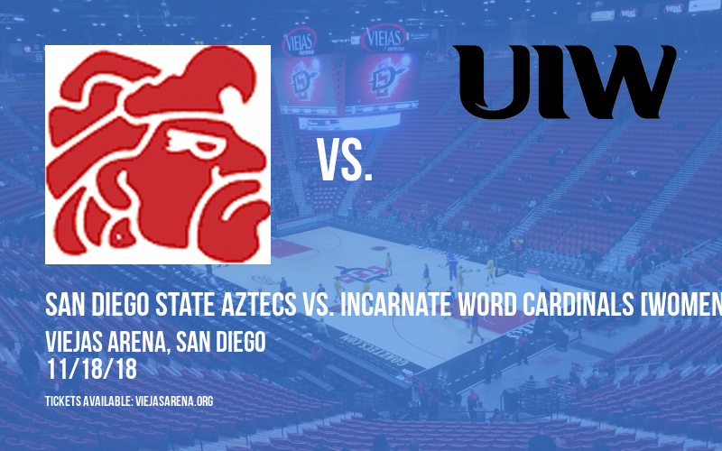 San Diego State Aztecs vs. Incarnate Word Cardinals [WOMEN] at Viejas Arena