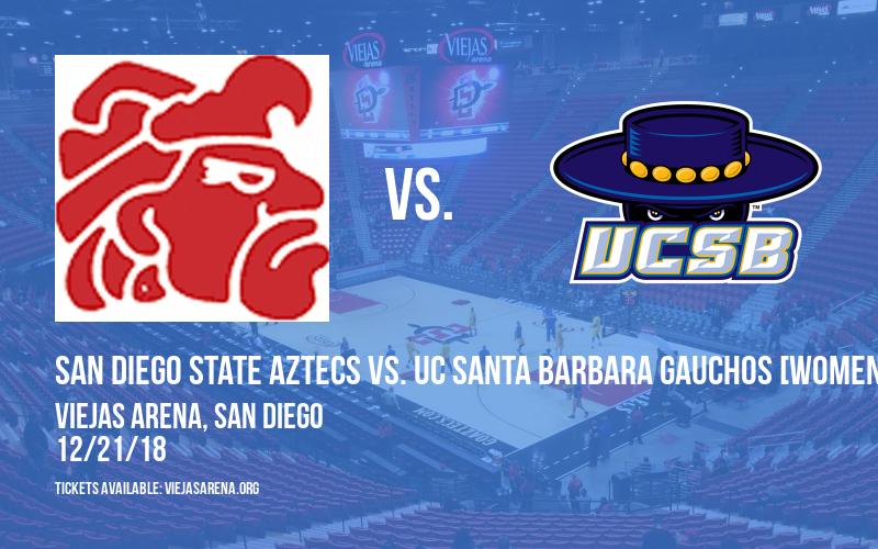 San Diego State Aztecs vs. UC Santa Barbara Gauchos [WOMEN] at Viejas Arena