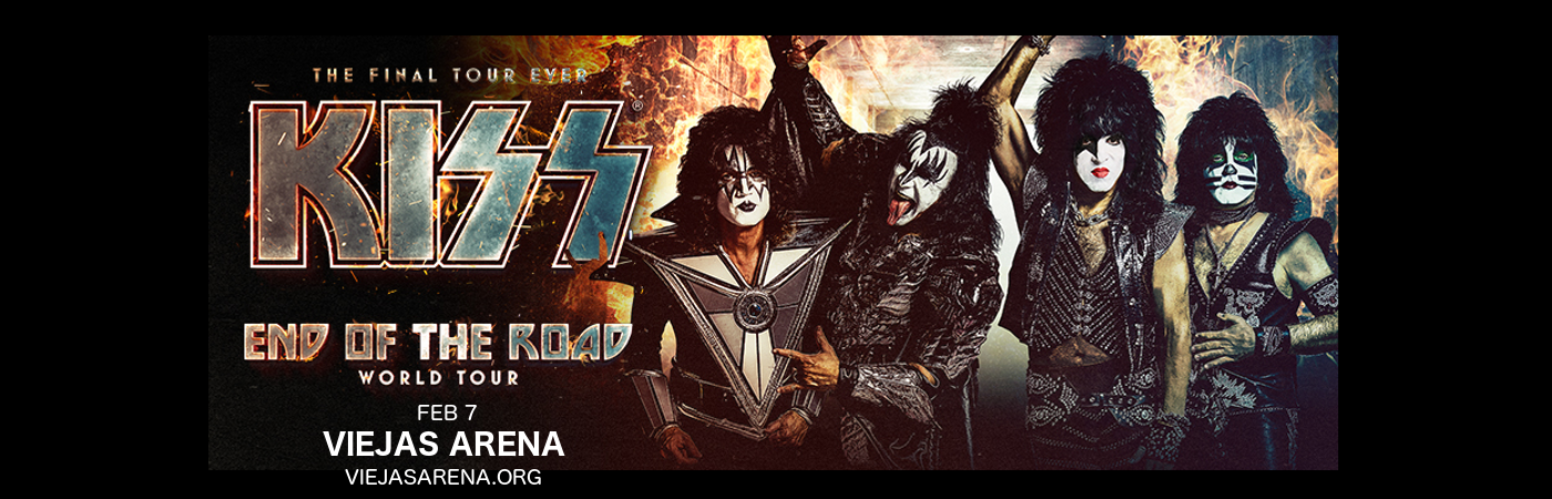 Kiss at Viejas Arena