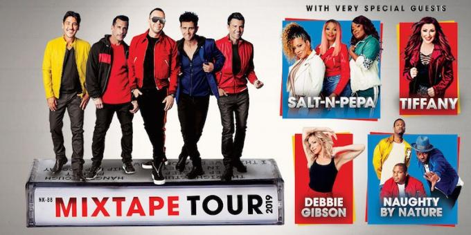 New Kids On The Block, Salt N Pepa & Naughty by Nature at Viejas Arena