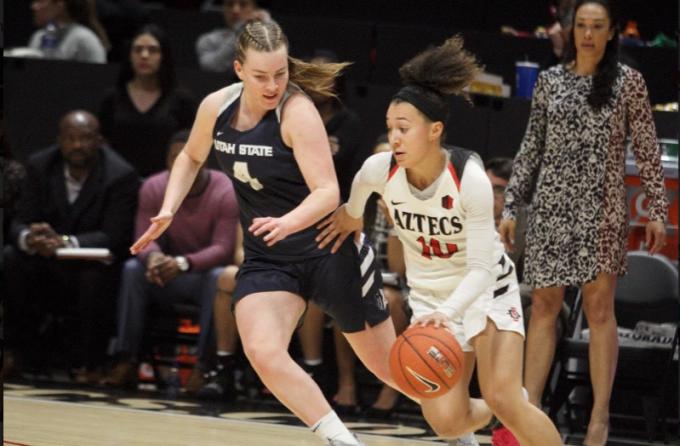 San Diego State Aztecs Women's Basketball vs. Utah State Aggies at Viejas Arena