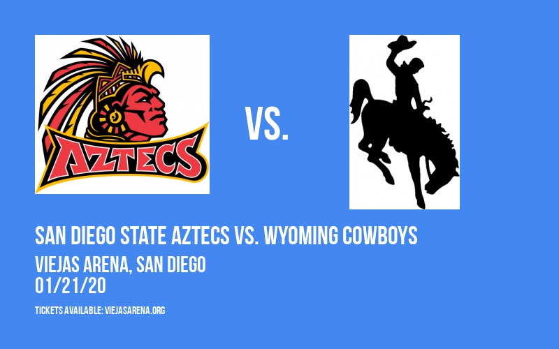 San Diego State Aztecs vs. Wyoming Cowboys at Viejas Arena