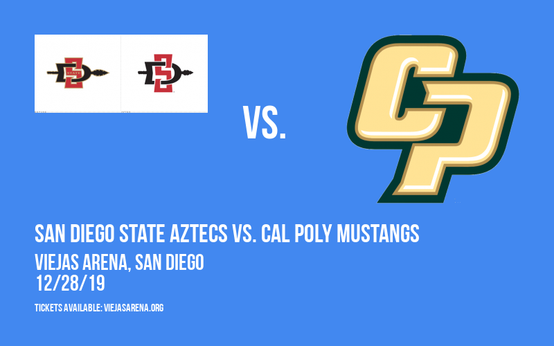 San Diego State Aztecs vs. Cal Poly Mustangs at Viejas Arena
