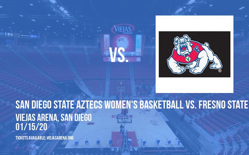 San Diego State Aztecs Women's Basketball vs. Fresno State Bulldogs at Viejas Arena