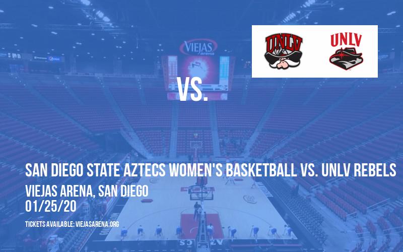 San Diego State Aztecs Women's Basketball vs. UNLV Rebels at Viejas Arena