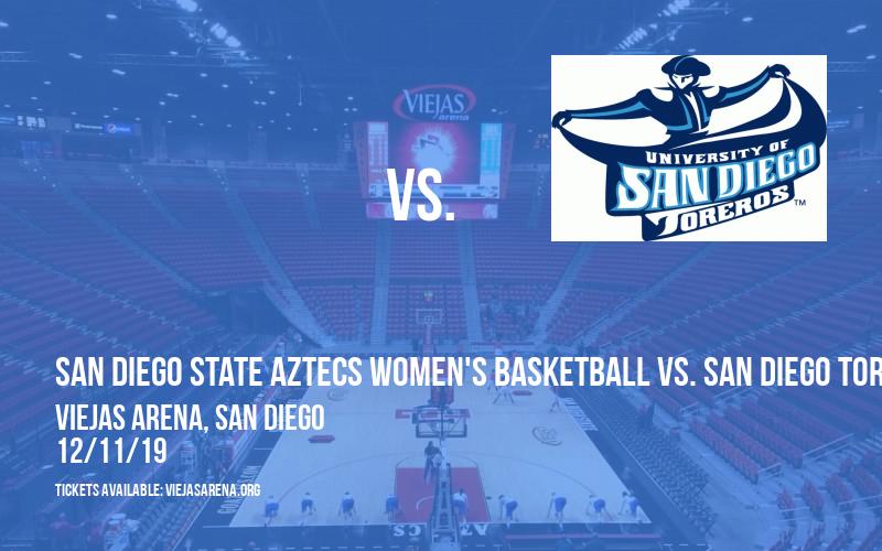San Diego State Aztecs Women's Basketball vs. San Diego Toreros at Viejas Arena