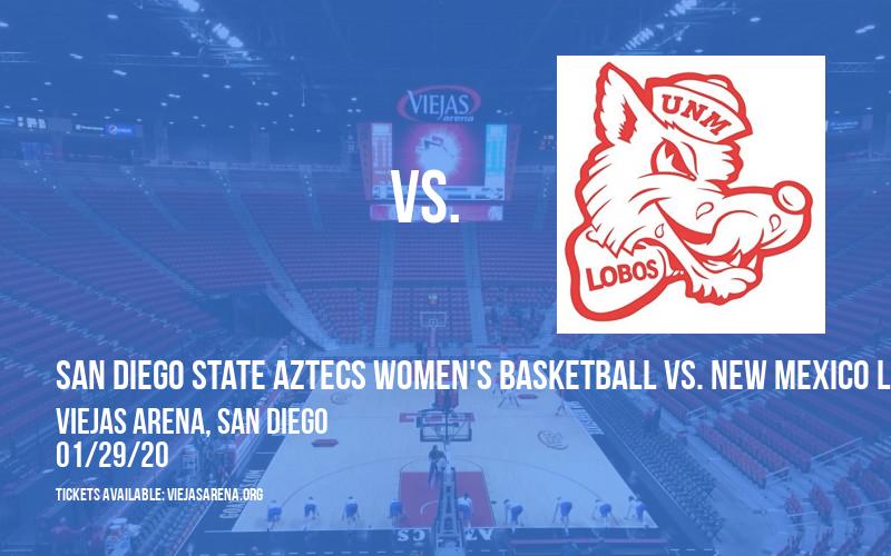 San Diego State Aztecs Women's Basketball vs. New Mexico Lobos at Viejas Arena