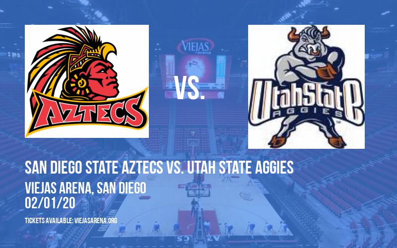 San Diego State Aztecs vs. Utah State Aggies at Viejas Arena