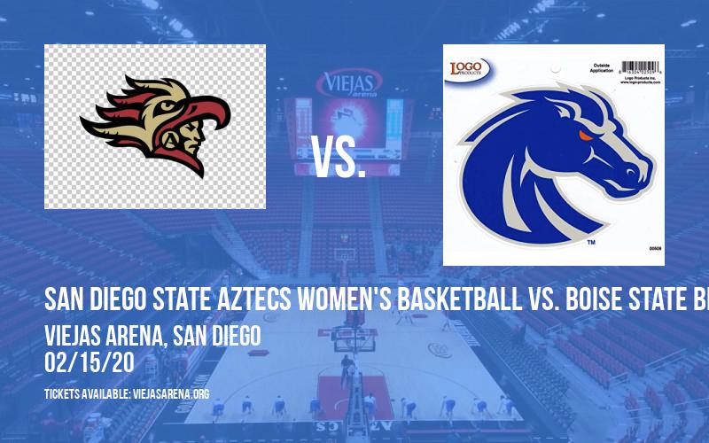 San Diego State Aztecs Women's Basketball vs. Boise State Broncos at Viejas Arena