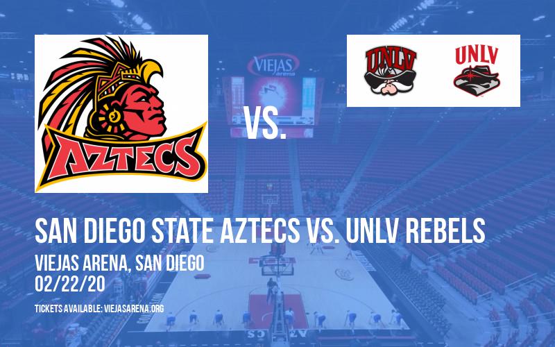 San Diego State Aztecs vs. UNLV Rebels at Viejas Arena