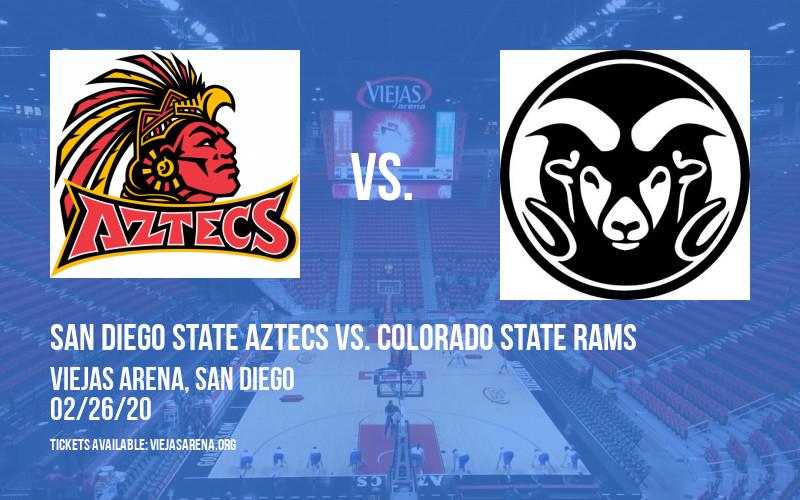 San Diego State Aztecs vs. Colorado State Rams at Viejas Arena