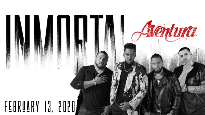 Aventura [POSTPONED] at Viejas Arena