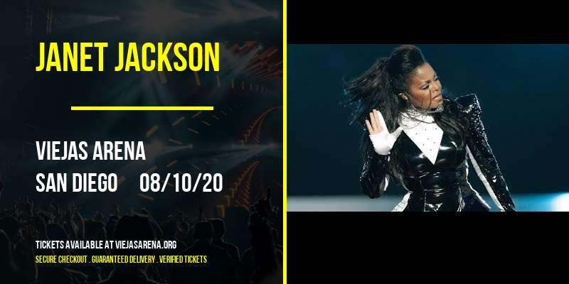 Janet Jackson [CANCELLED] at Viejas Arena