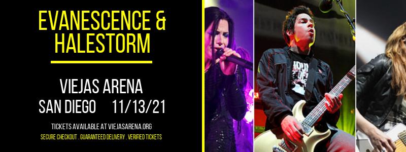 Evanescence & Halestorm at Viejas Arena